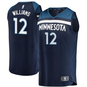 Fanatics Branded Minnesota Timberwolves Swingman Navy C.J. Williams Fast Break Jersey - Icon Edition - Youth