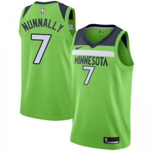 Nike Minnesota Timberwolves Swingman Green James Nunnally Jersey - Statement Edition - Youth